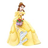 Раскраски с принцессой Белль скачать и распечатать бесплатно