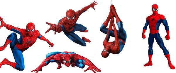 Человек-паук - как раскрасить