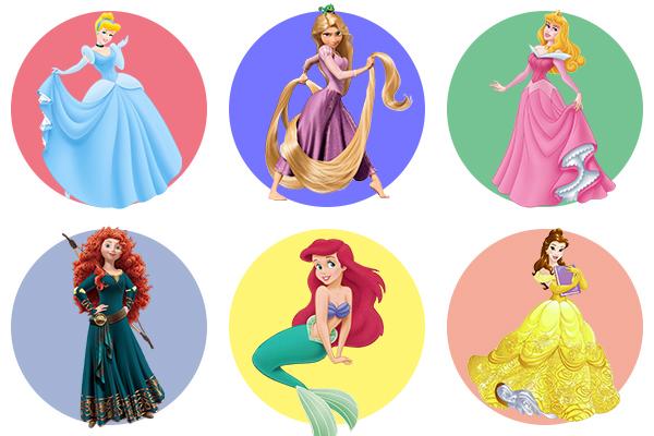 Принцессы Дисней - как раскрасить?