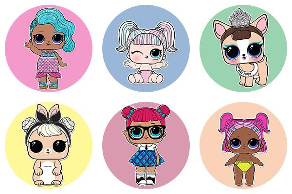 куклы лол Lol раскраски для девочек распечатать бесплатно