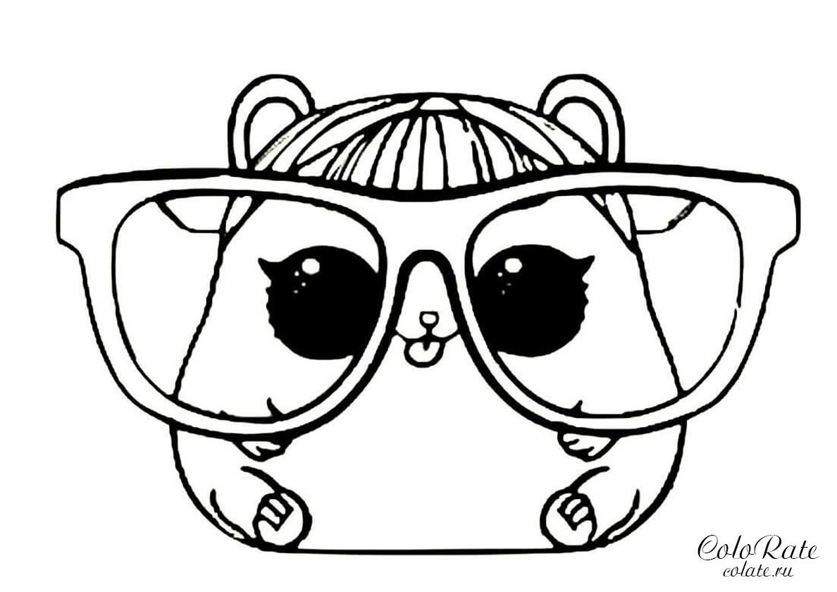 Раскраска LOL Pets - хомячок Черри распечатать | Куклы ЛОЛ ...
