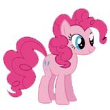 Разукрашки Пинки Пай для девочек