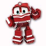 Роботы-поезда - раскраски из мультфильма