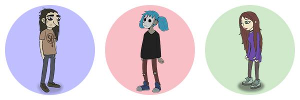 Салли Фейс - герои компьютерной игры