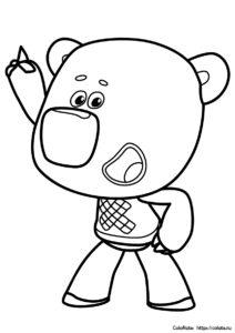 У Кеши появилась идея - раскраска из мультика про МиМиМишек