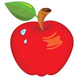 Раскраски яблок для детей на А4