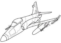 Самолеты бесплатная раскраска распечатать на А4 - British Aerospace Hawk 200