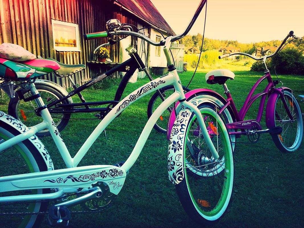 Велосипеды и лето