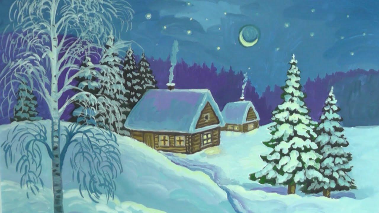 Бесплатные раскраски про зиму для детей