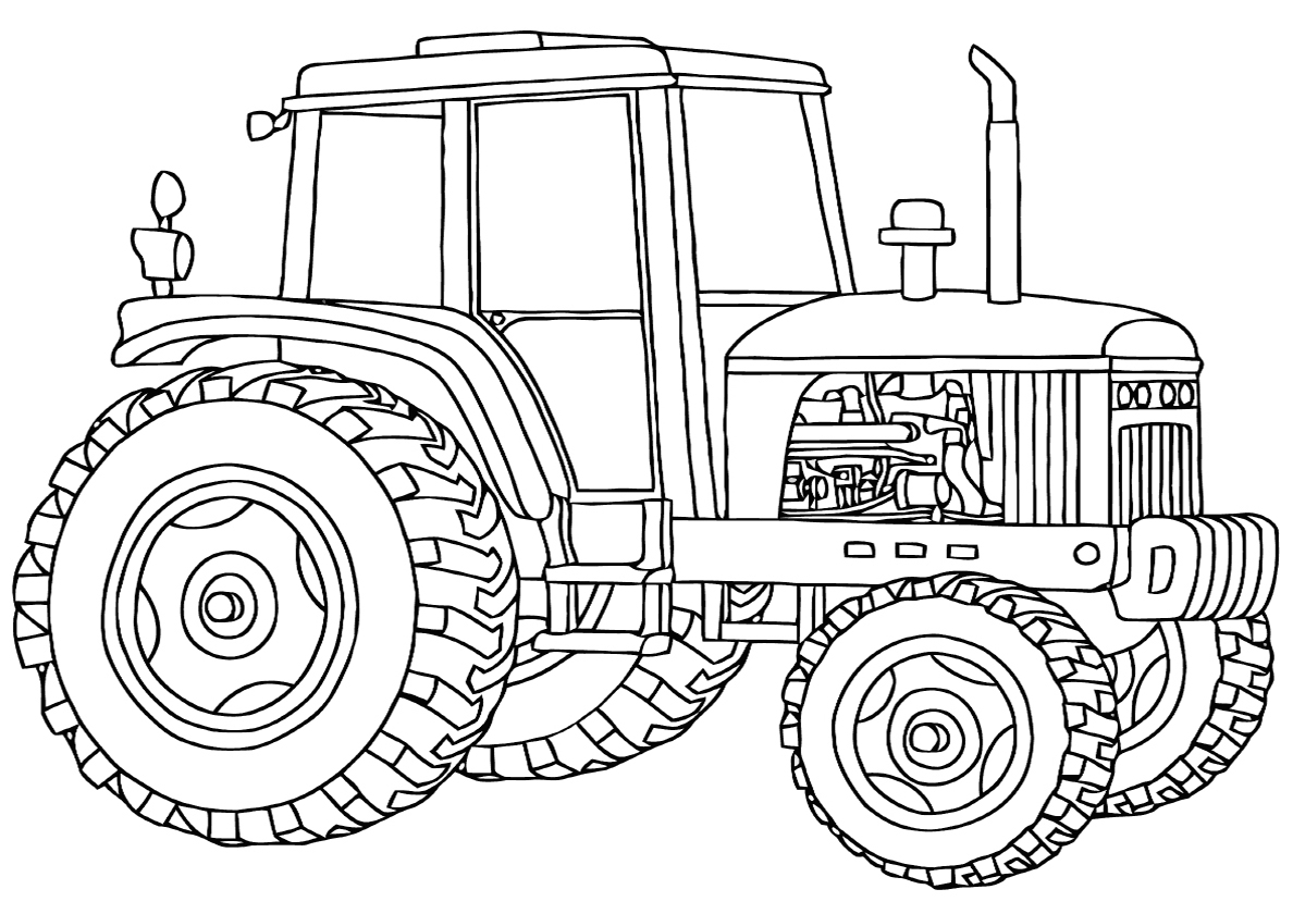 Картинки для печатей трактора
