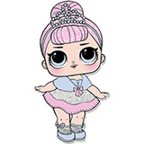 Лол Конфетти Поп - раскраски для девочек распечатать