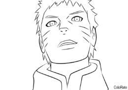 Мальчик вырос (Наруто) распечатать бесплатную раскраску