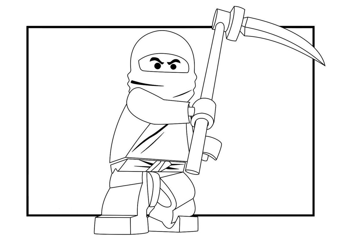 Рисунки лего ниндзяго для срисовки