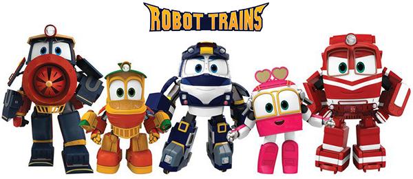Роботы-поезда - как раскрасить героев?