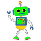 Раскраски роботов для детей