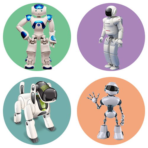 Раскраски роботов для детей на ColoRate