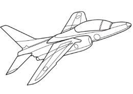 Самолет Т-4 (Самолеты) распечатать раскраску