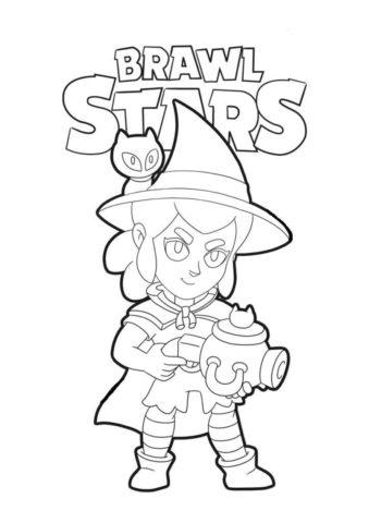 Шелли ведьмочка (Браво Старс) распечатать бесплатную раскраску