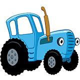Раскраски тракторов для детей распечатать на А4