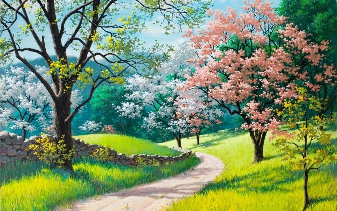 Весна - бесплатные раскраски для детей 3-7 лет