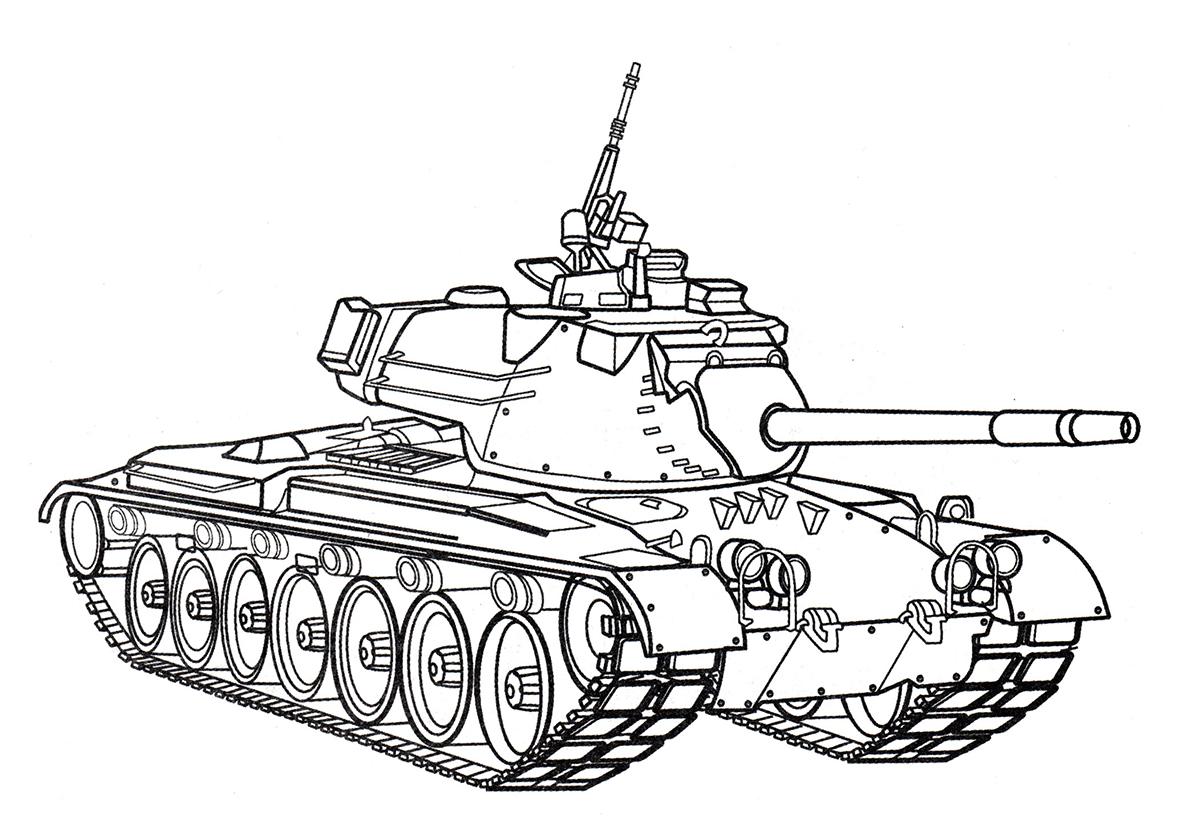 танк для раскраски распечатать рассматривают все