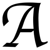Трафареты букв для вырезания распечатать на А4