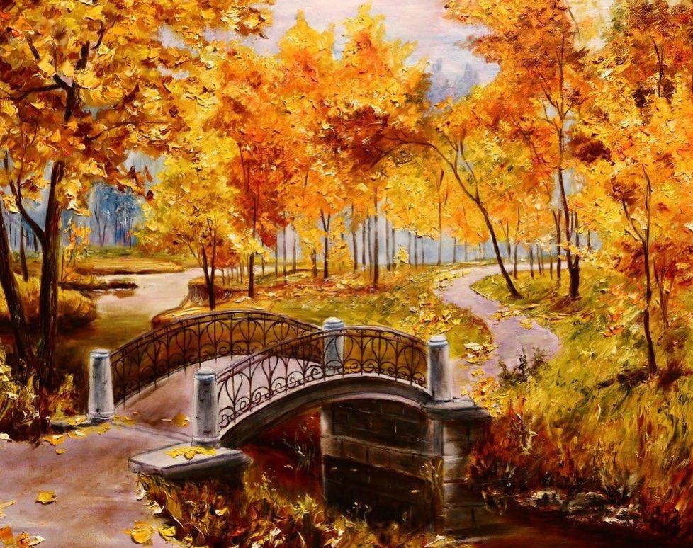 Золотая осень - бесплатные раскраски для детей